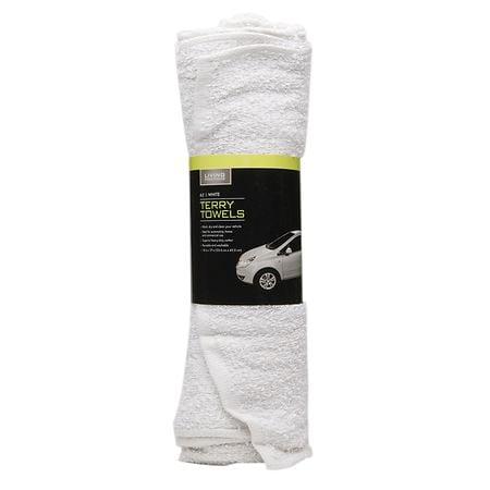 Living Solutions Terry Towels - 6 ea
