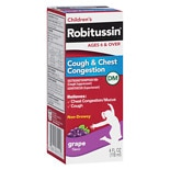 Robitussin Cough and Congestion Grape Flavor