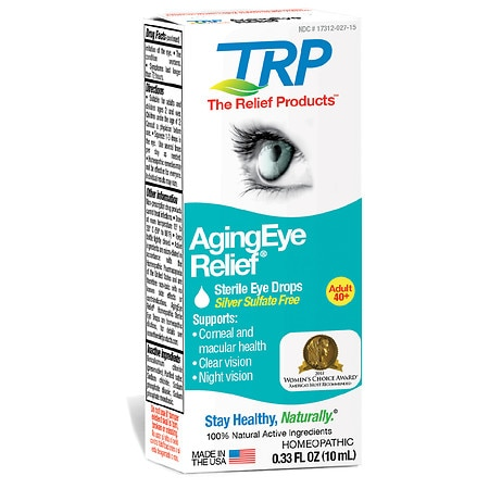 The Relief Products Aging Eye Relief Drops - 0.33 fl oz
