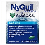 Vicks Nyquil Severe Cold and Flu Caplet