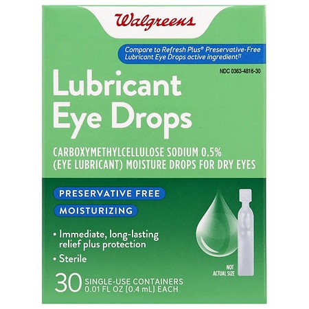 Walgreens Eye Drop - 0.01 Oz.