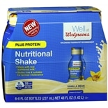 Walgreens Nutritional Plus Shake Vanilla Bean