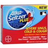 Alka-Seltzer Plus Severe Sinus Cold & Cough Liquid Gels
