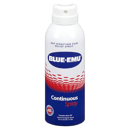 Image of Blue-Emu Pain Relief Continuous Spray - 4 fl oz
