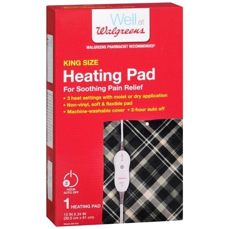 Walgreens Heating Pad Moist Dry King Size - 1 ea