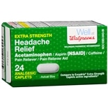 Walgreens Extra Strength Headache Relief Caplets