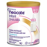 wag-Neocate Infant DHA/ARA, Amino Acid Based with Iron Powdered Infant Formula Unflavored, 0-12 Months