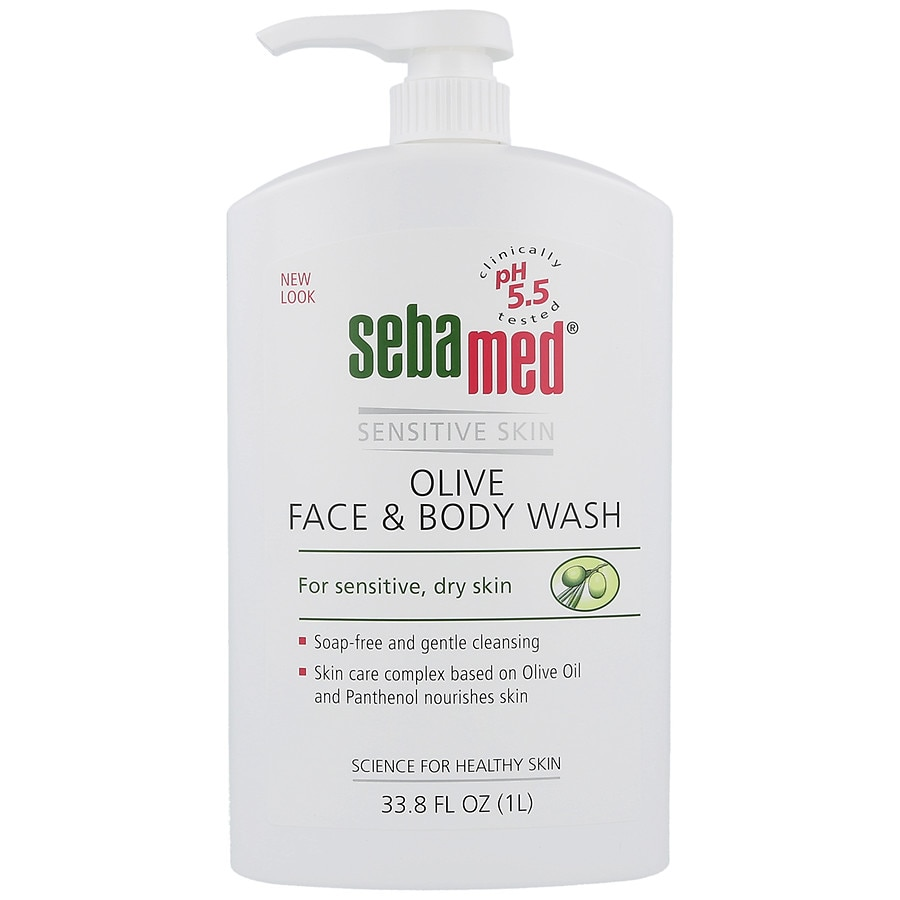 Sebamed Olive Face Body Wash Walgreens 200 Ml Product Large Image
