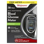 Walgreens True Metrix Blood Glucose Meter Black