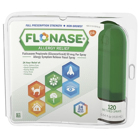 Flonase Allergy Relief Spray 120 metered sprays