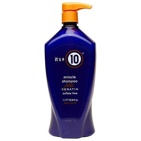it's a 10 miracle shampoo plus keratin - 33.8 fl oz