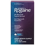 Women's Rogaine Minoxidil Hair Thinning & Loss Treatment Foam, 4 Month Unscented