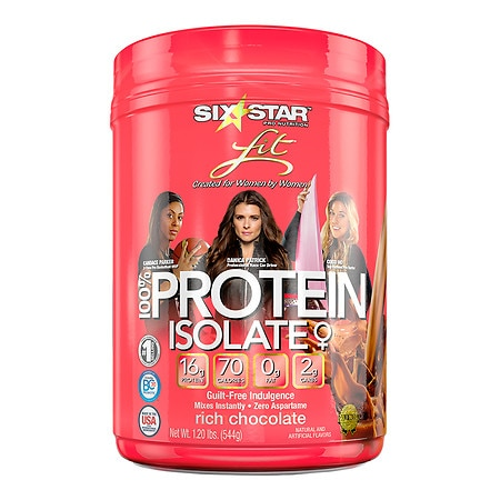 Six Star Fit Lean Protein Chocolate - 1.2 lb