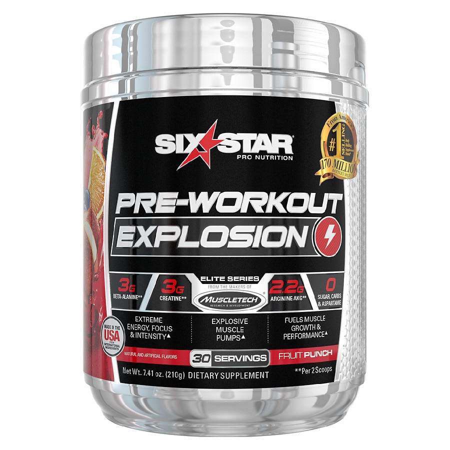 All Stars Pump Booster Test six star pre workout explosion fruit punch