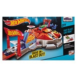 Hot Wheels Launching Car Garage