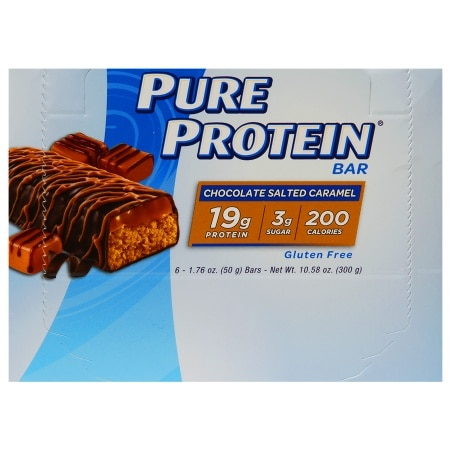 Pure Protein Bar Salted Caramel - 1.76 oz x 6 pack