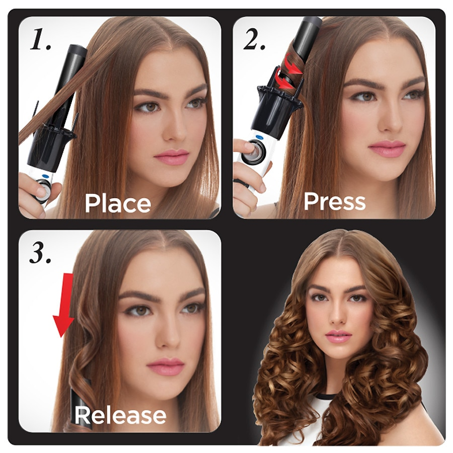 Kiss Instawave Automatic Curler Walgreens