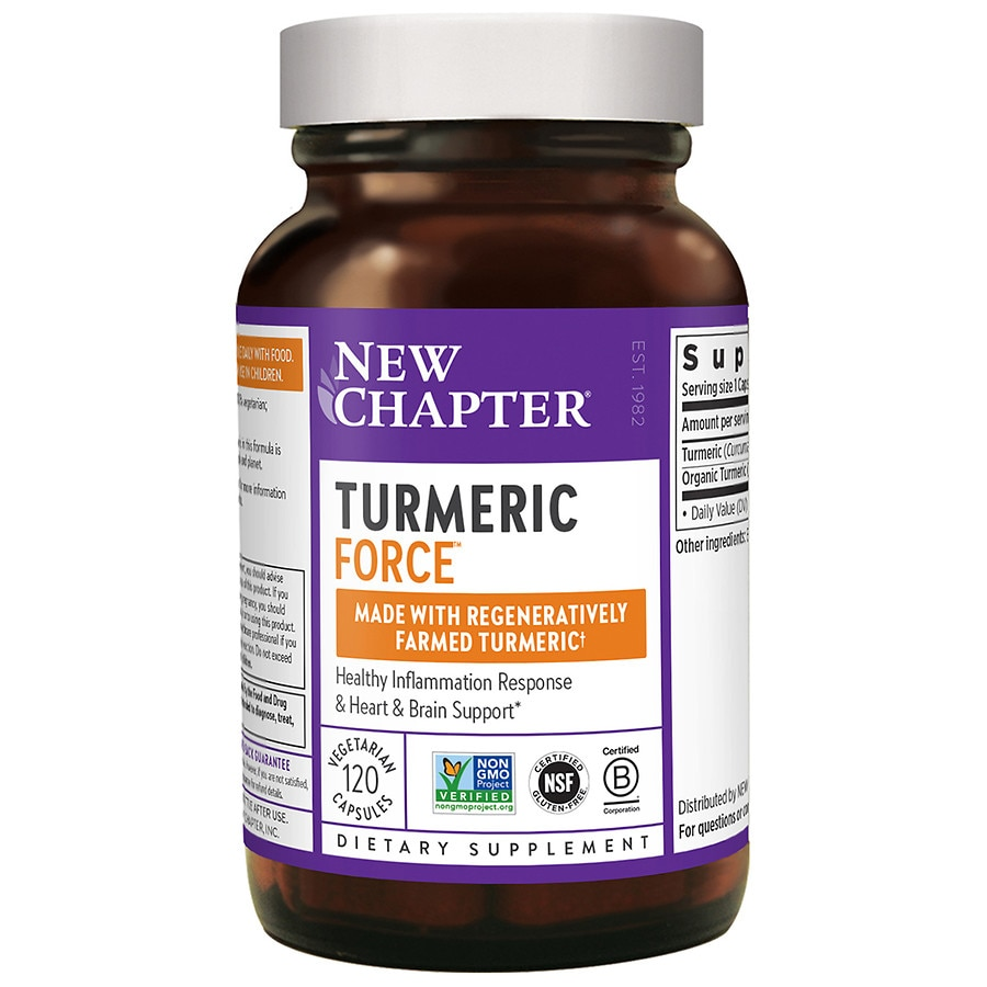 New Chapter Turmeric Force, Turmeric Supplement