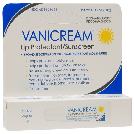 Vanicream Lip Protectant/Sunscreen SPF 30 - 0.35 oz.