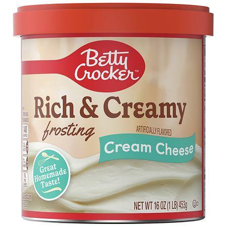Betty Crocker Ready To Spread Frosting Cream Cheese - 16 oz.