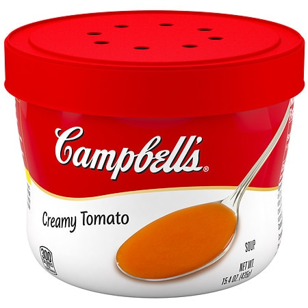 Campbell's Creamy Tomato Soup Microwavable Bowl - 15.4 oz.