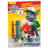 Paw Patrol Coloring Book With Stickers