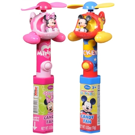 Candyrific Mickey/Minnie Clubhouse Helicopter Fan - 0.53 oz.