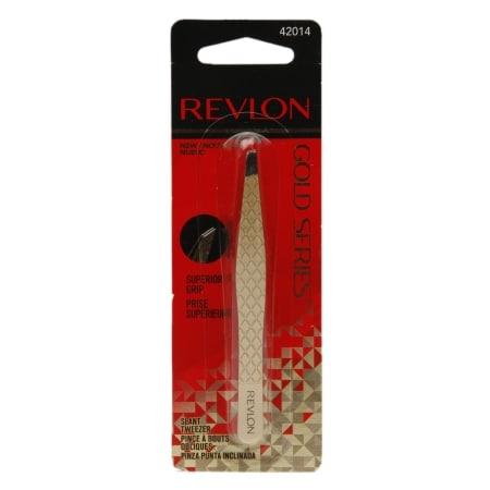Revlon Gold Series Slant Tweezers - 1 ea