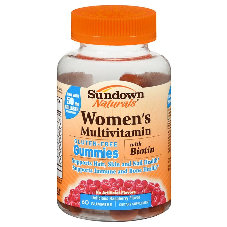 Sundown Naturals Women S Multivitamin With Biotin Gluten Free Gummies