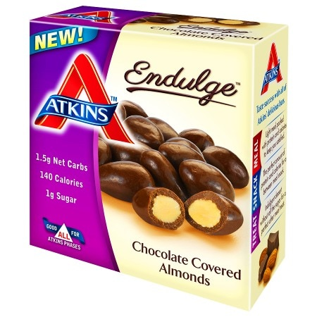 Image of Atkins Endulge Chocolate Covered Almonds - 5 ea
