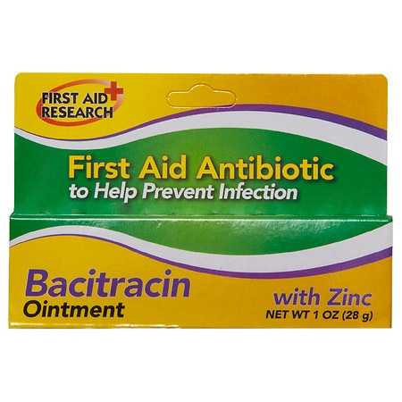 Bacitracin Ointment with Zinc - 1 oz.