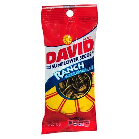 David Sunflower Seeds Roasted - 1.62 oz.