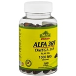 Alfa Vitamins 369 Flax Oil Softgels