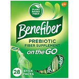 Benefiber Fiber Supplement On the Go! Stick Packs Unflavored