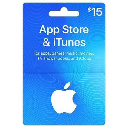 Apple iTunes $15 Gift Card - 1 ea