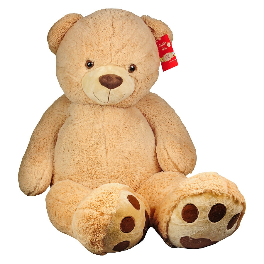 Best Made Toys Jumbo Giant Stuffed Teddy Bear 52 Inch Walgreens