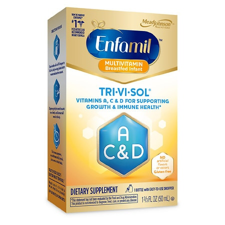 Enfamil Tri-Vi-Sol Multivitamin Supplement Drops - 1.66