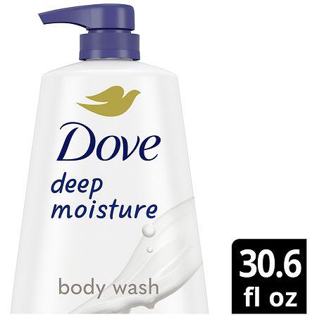 dove body wash with pump deep moisture