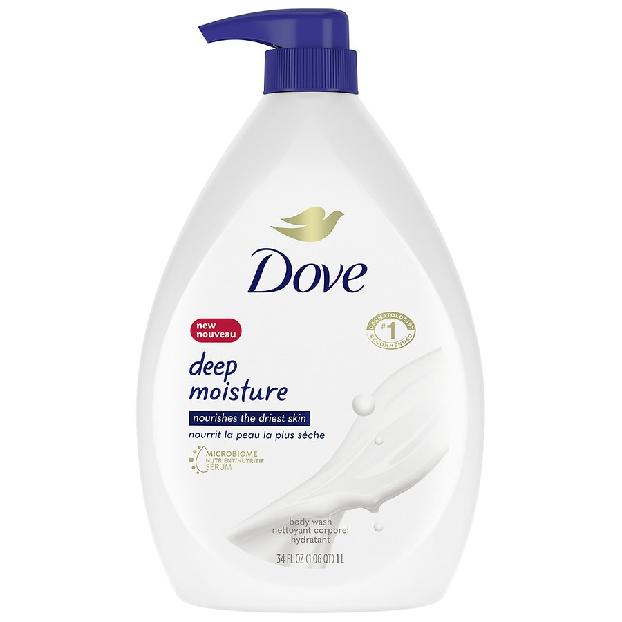 Dove Body Wash Pump Deep Moisture Walgreens