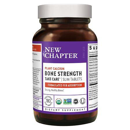New Chapter Bone Strength Take Care, Slimline