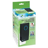 Germ Guardian Elite Pluggable UV-C Air Sanitizer & Deodorizer Black