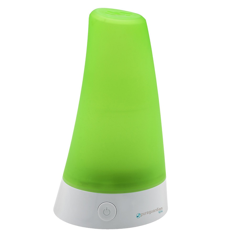 pureguardian ultrasonic aromatherapy oil diffuser green and whitepureguardian ultrasonic aromatherapy oil diffuser green and white1 0 ea