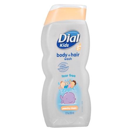 Dial Kids Body + Hair Wash Peachy Clean - 12 fl oz