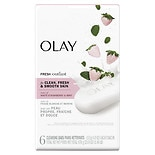 Olay Fresh Outlast Beauty Bar Cooling White Strawberry & Mint