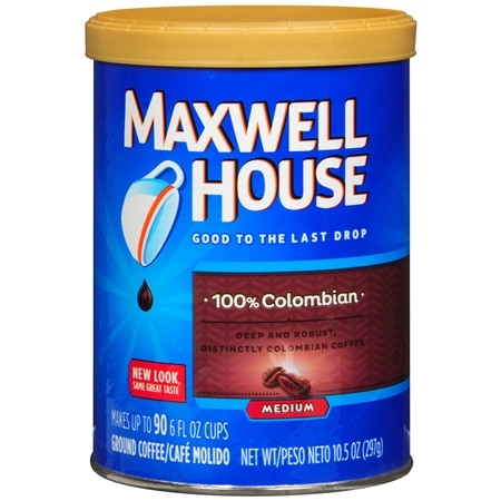 Maxwell House Ground Coffee Colombian Supreme - 10.5 oz.