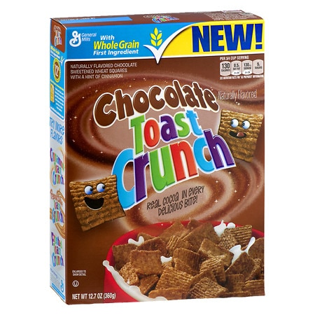 Chocolate Toast Crunch Cereal - 12.7 oz.