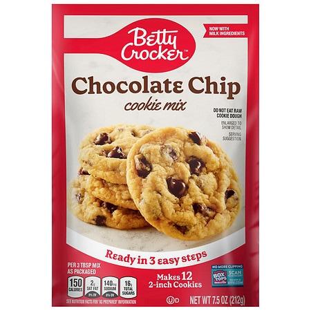 Betty Crocker Cookie Mix Chocolate Chip - 7.5 oz.