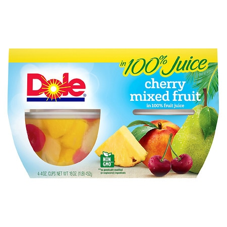 Dole Mixed Fruit Cherry - 4 oz.