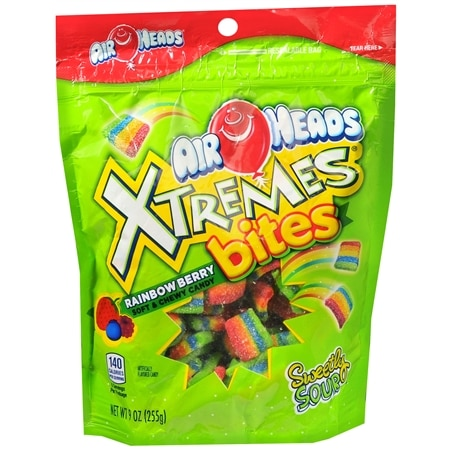 Airheads Xtremes Candy Bites Berry - 9 oz.