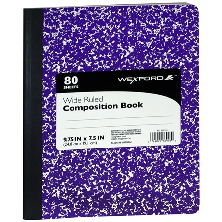Wexford Composition Book - 80.0 sh